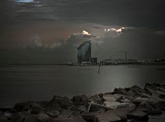 Marina nocturna