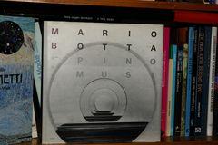 Mario Botta, gesehen von Pino Musi