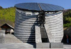 Mario Botta's Kapelle in Mogno