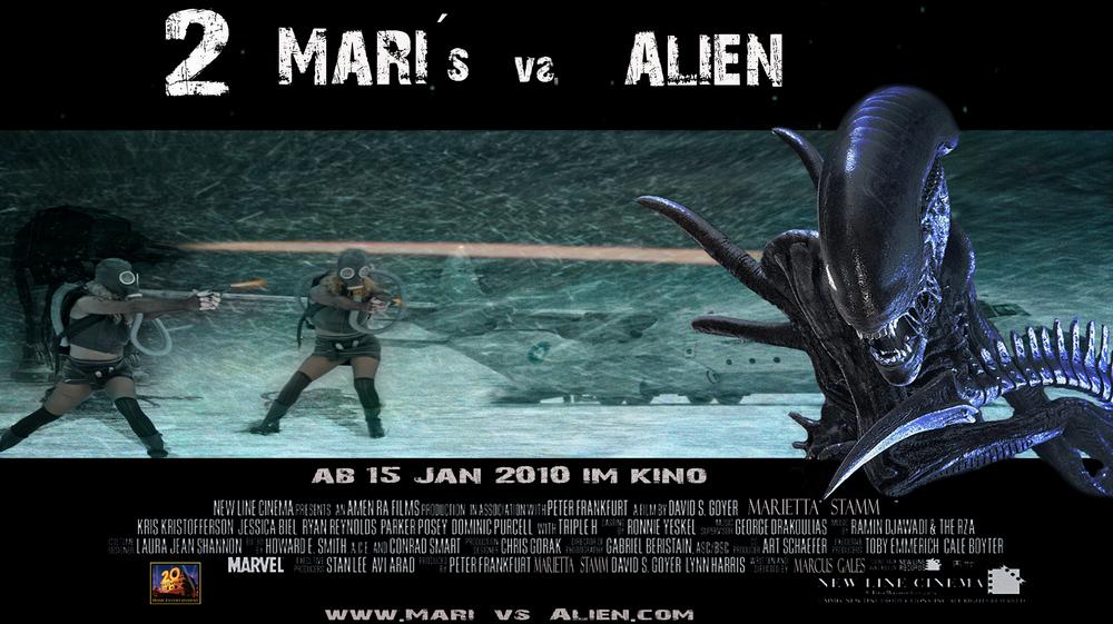""" Mari´s vs. Alien """