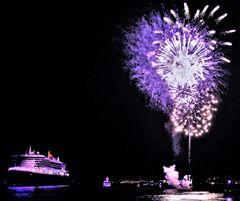 Maritimer Sylvester-/Neujahrsgruß