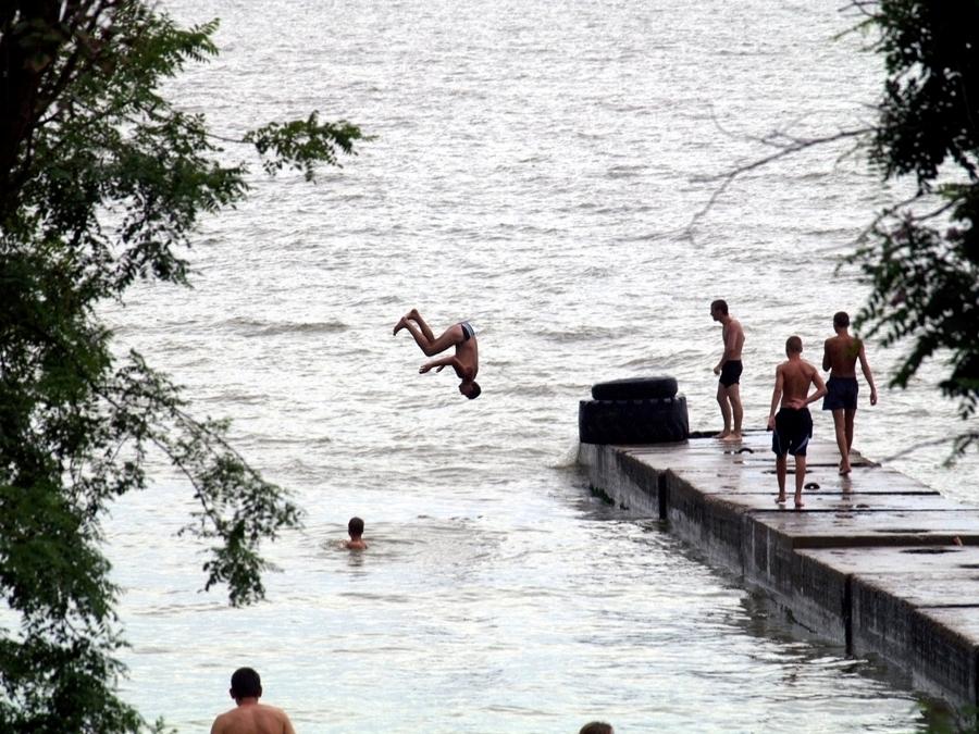 Mariupol , Azovskie More.