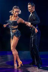 Marius-Andrei Balan & Kristina Moshenska beim ChaChaCha