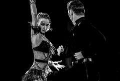 """Marius-Andrei Balan & Kristina Moshenska beim ChaChaCha - """"Der Blick"""""""