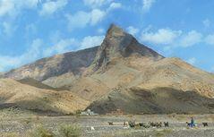 Markanter Gipfel bei Al Ayn