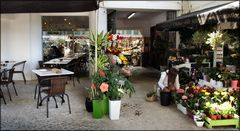 Market and Restaurant.