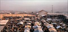 Market in Nazaré .