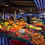 Markt am Abend