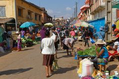 Markt in Ambositra