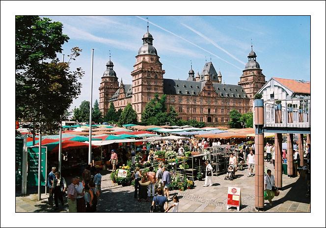 Markt in Aschaffenburg