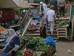 Markt in Bethlehem.