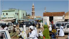 Markt in Dongola...............