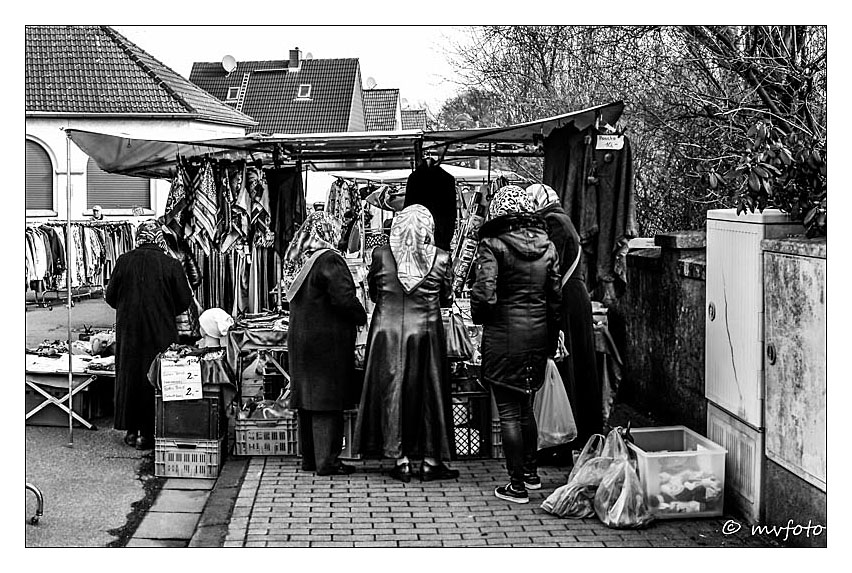 Markt in Hassel