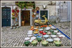 Markt in Lissabon
