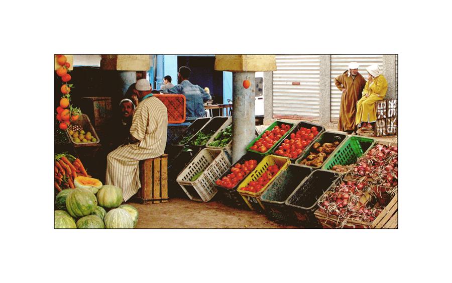 Markt in Mirleft