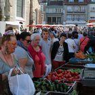 Markt in Nordfrankreich