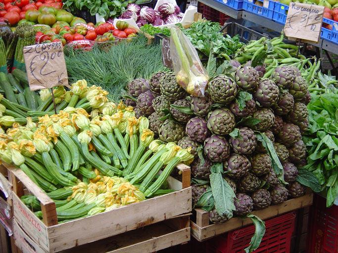 Markt in Rom