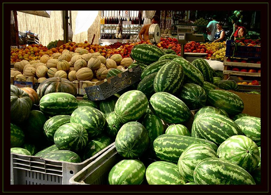 Markt in Vieste
