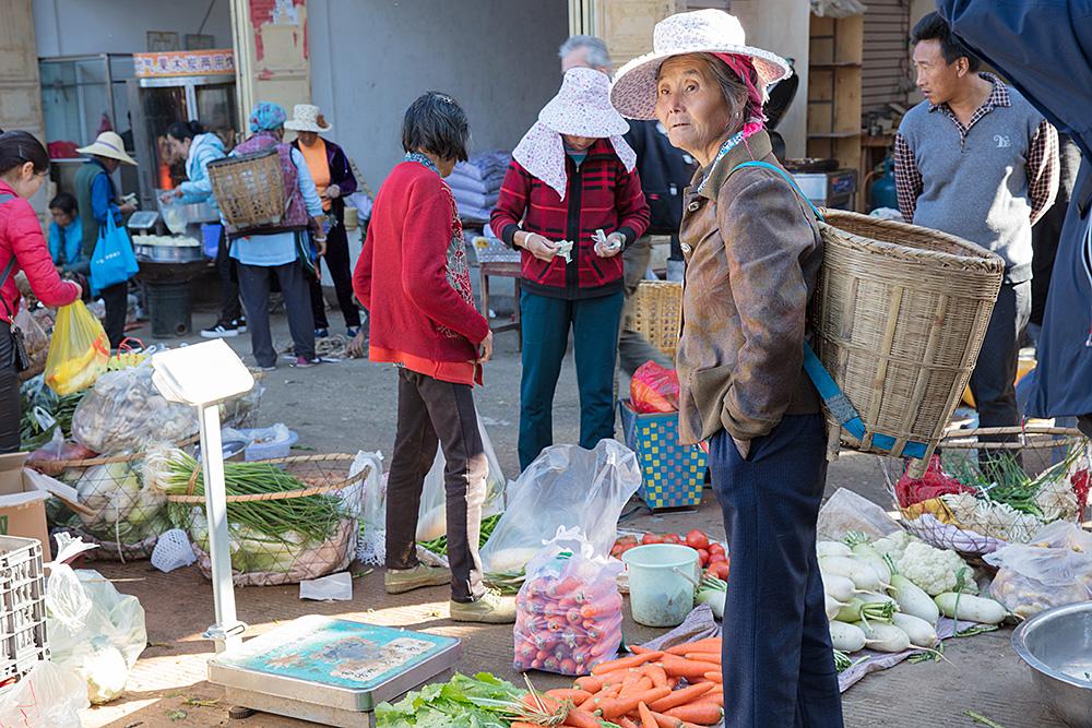 Markt in Xizon
