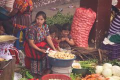 Marktangebot in Guatemala