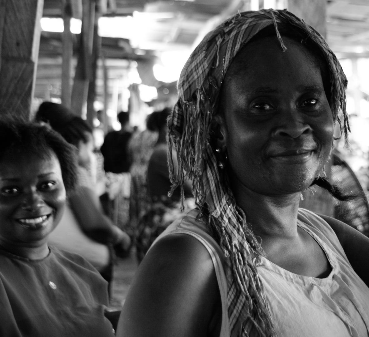 Marktfrau Dome Market, Accra