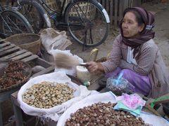 Marktfrau in Burma