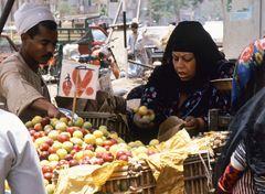 Marktfrau in der Oase Fayum