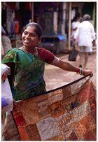 Marktfrau in Mapsa