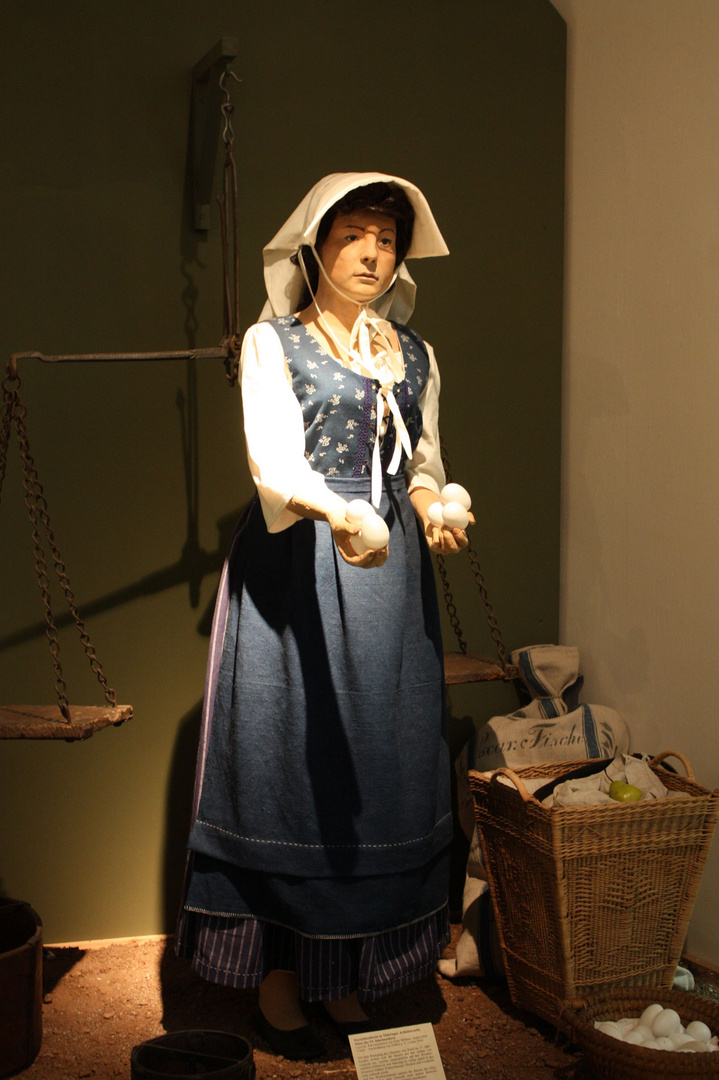 Marktfrau zu Zeiten Luthers