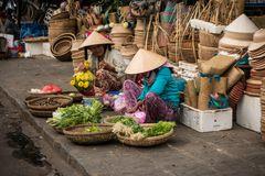 Marktfrauen in Hoi An