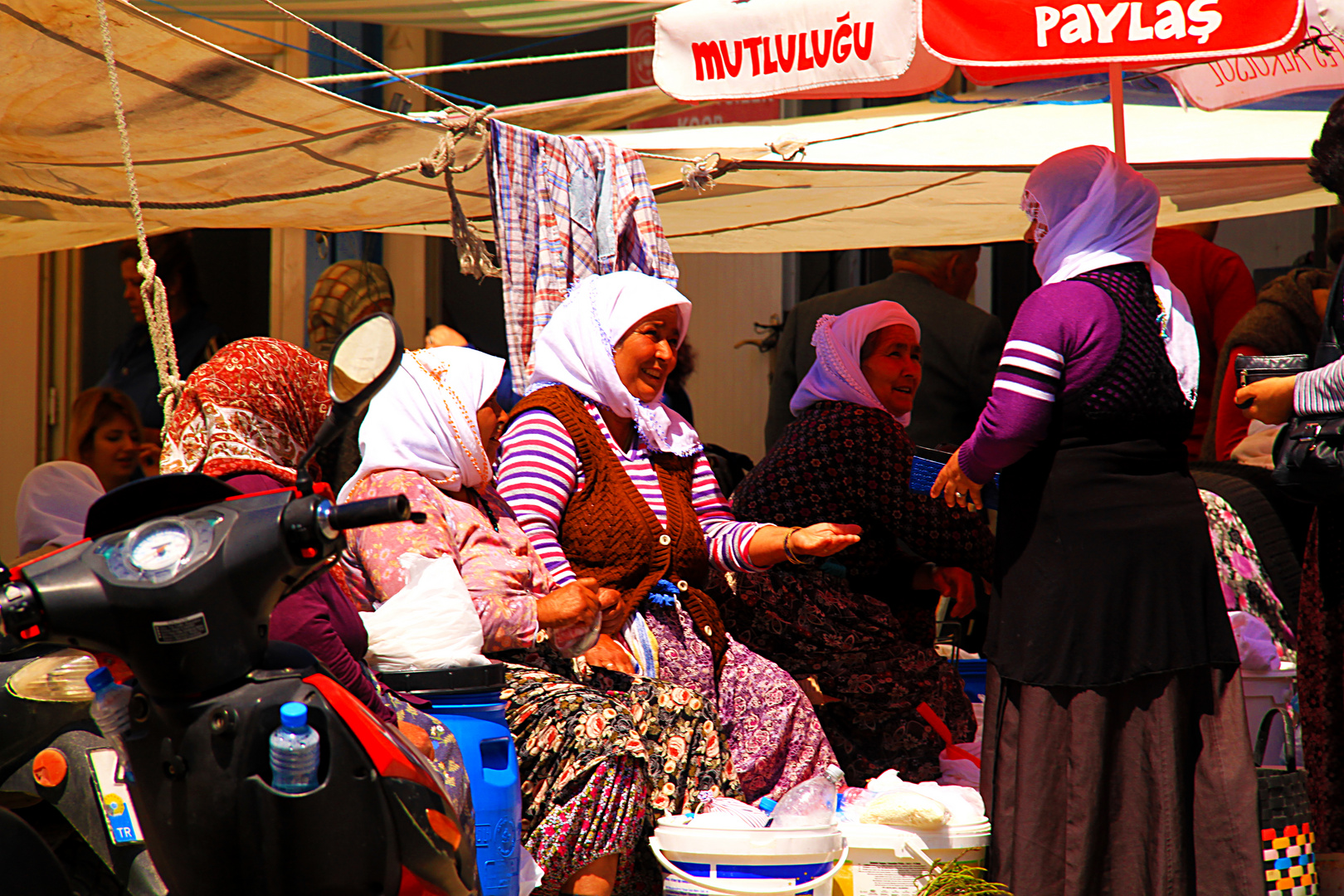 Marktfrauen in Milas