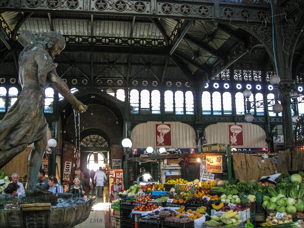 Markthalle mit Stil