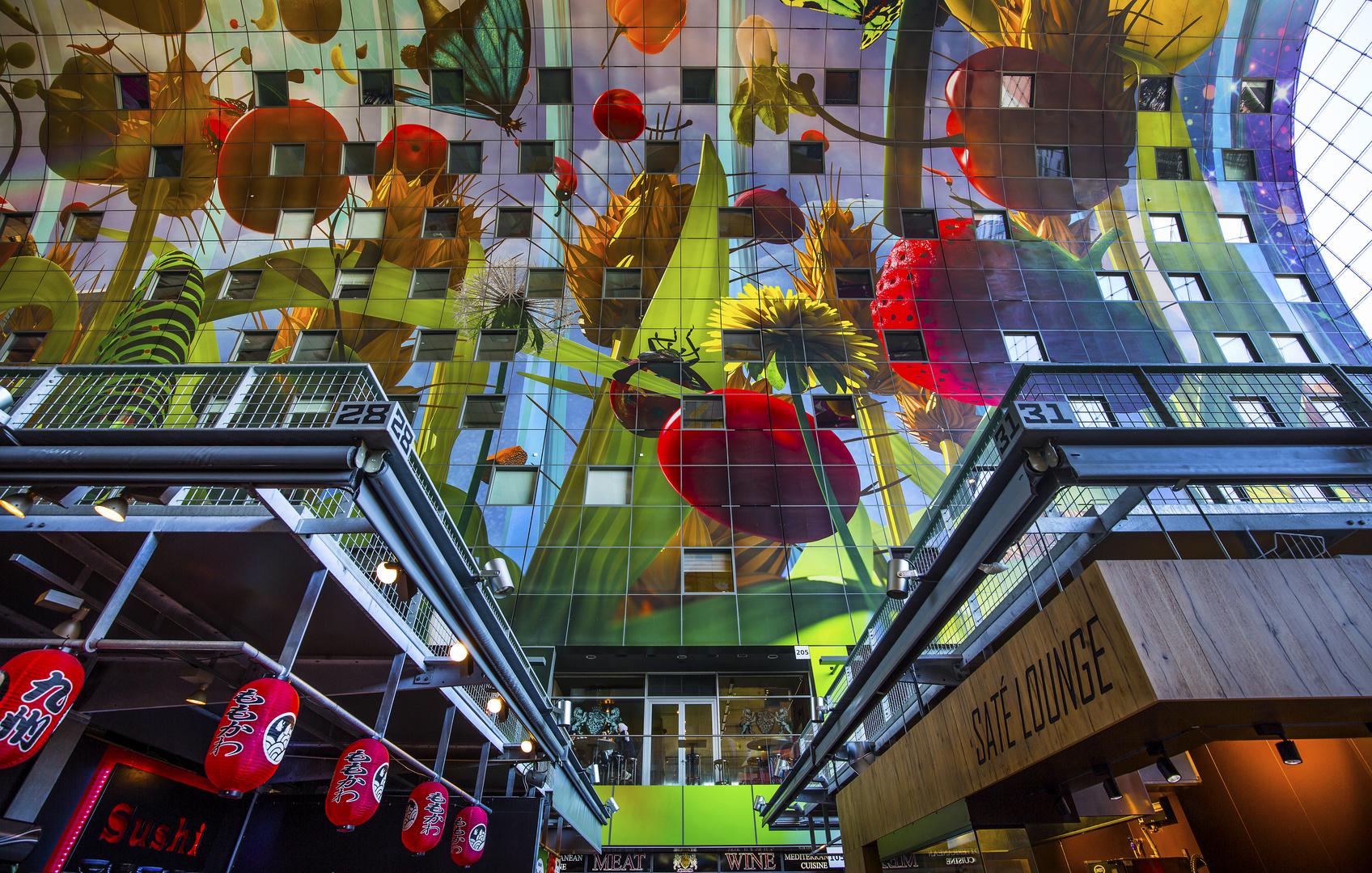 Rotterdam markthalle