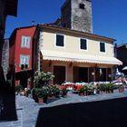 Marktplatz, Dorf in der Toscana