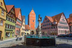 Marktplatz in Dinkelsbühl