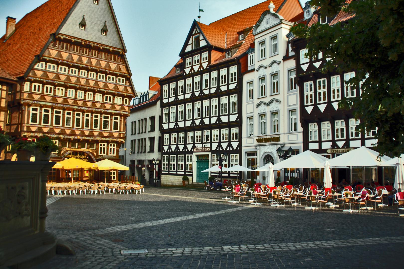Marktplatz in Hildesheim