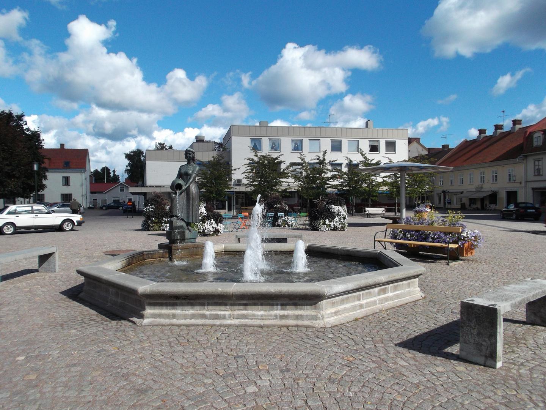 Marktplatz in Hjo