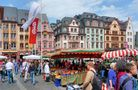 Marktplatz in Mainz von Günter Walther