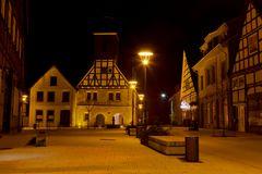 Marktplatz in Sachsenhagen DRI
