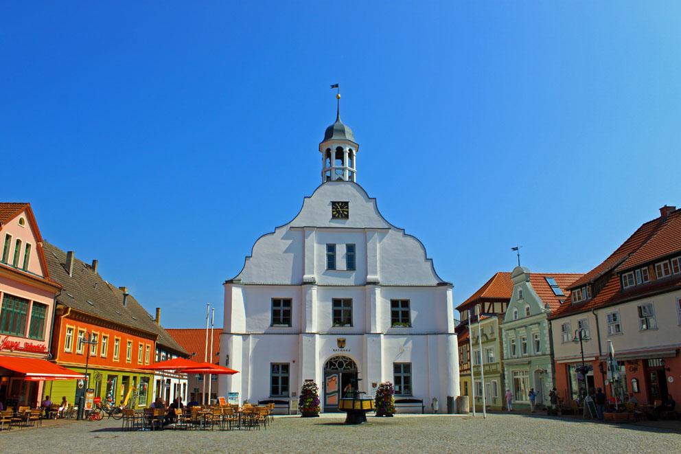 Marktplatz in Wolgast