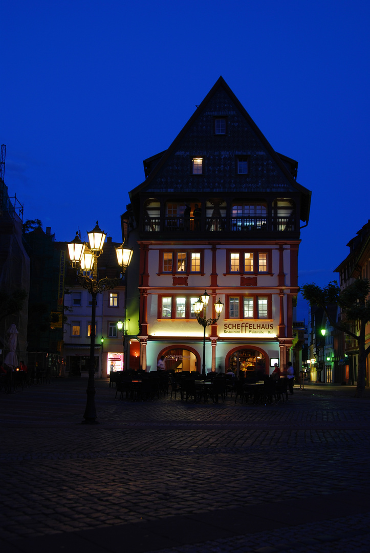 Marktplatz Neustadt Weinstaße