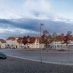 Marktplatz Neustrelitz ...
