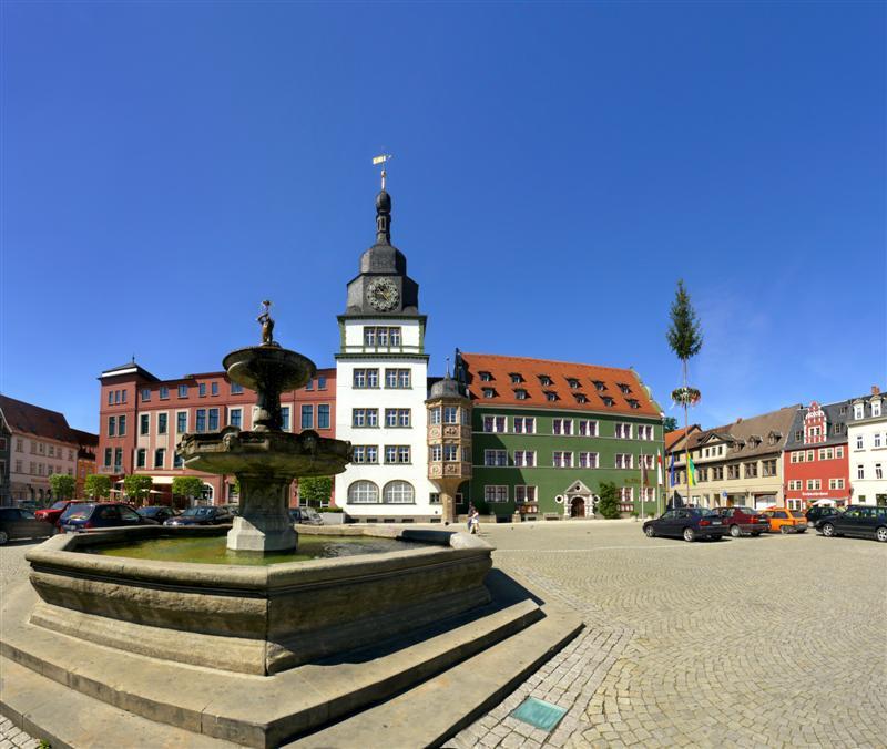 Marktplatz & Rathaus Rudolstadt