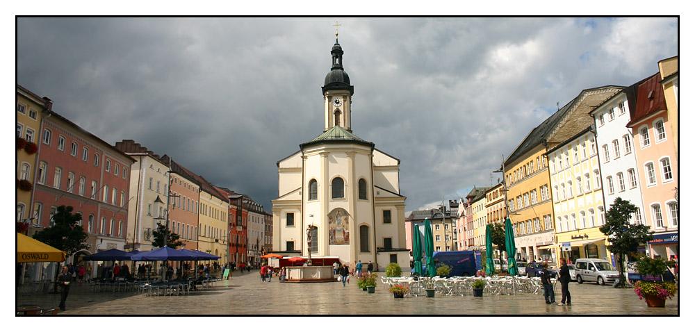 Marktplatz Traunstein
