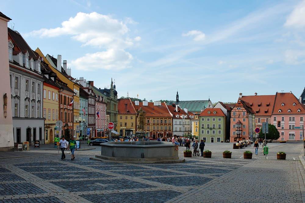 Marktplatz von Eger - Cheb Foto & Bild | europe, czech