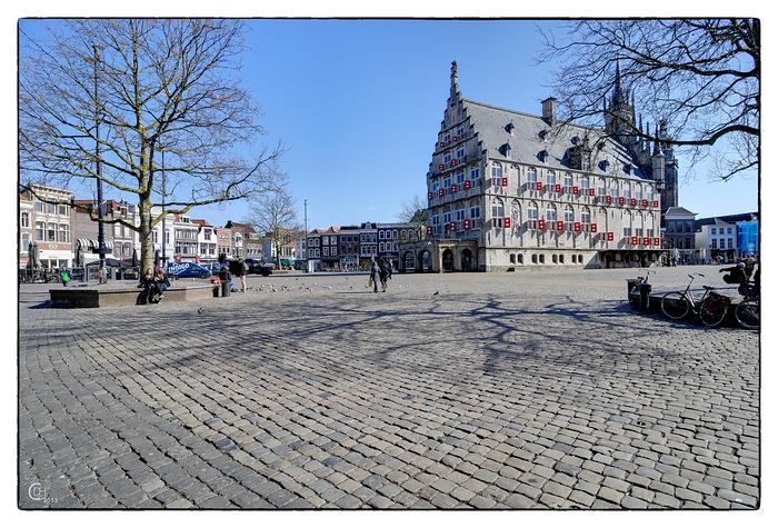 Marktplatz von Gouda, Niederlande
