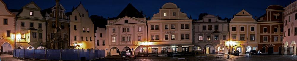 Marktplatz von Krummau