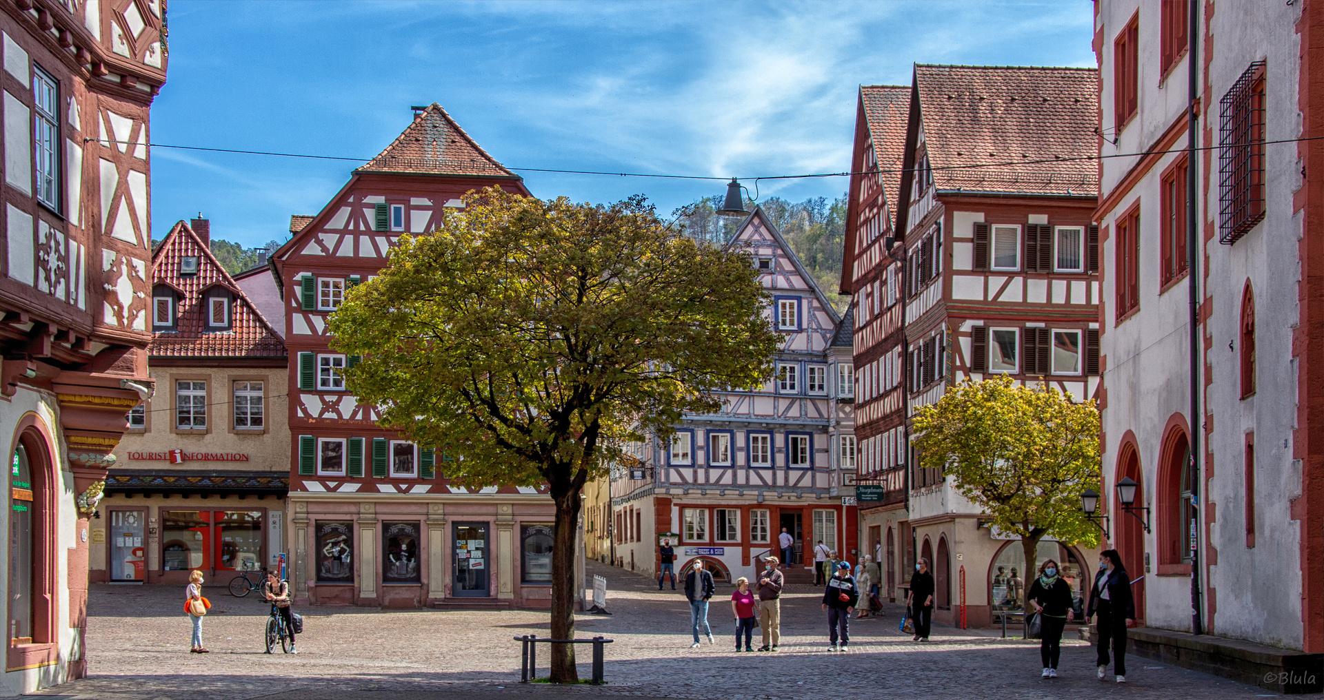 Marktplatz von Mosbach