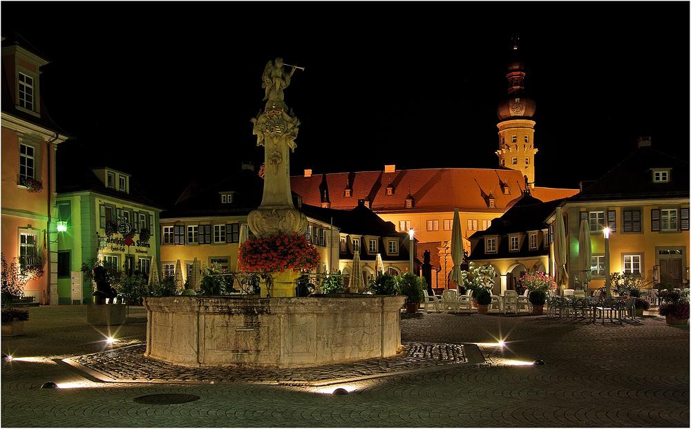 """"""" Marktplatz Weikersheim """""""