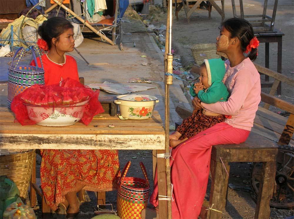 marktszene in Kalaw